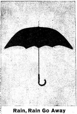 Rain - San Antonio Express TX - 11 Dec 1963