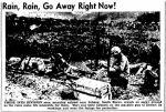 Rain – South Korea – Lima News OH 18 Sep1950