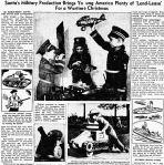 Wartime Christmas – Reno Evening Gazette NV – 16 Nov1942