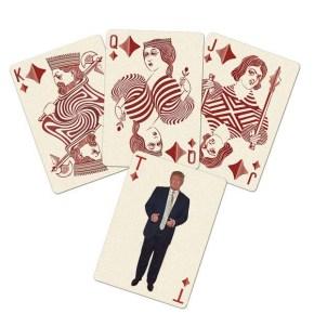 Trump cards diamond